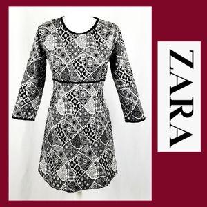 Zara Fit & Flare Dress Size Medium